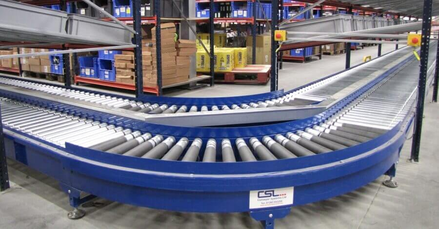 Roller Conveyors | Conveyor Systems Ltd