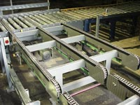 Pallet Chain Conveyors handling capacities up to 2000kgs